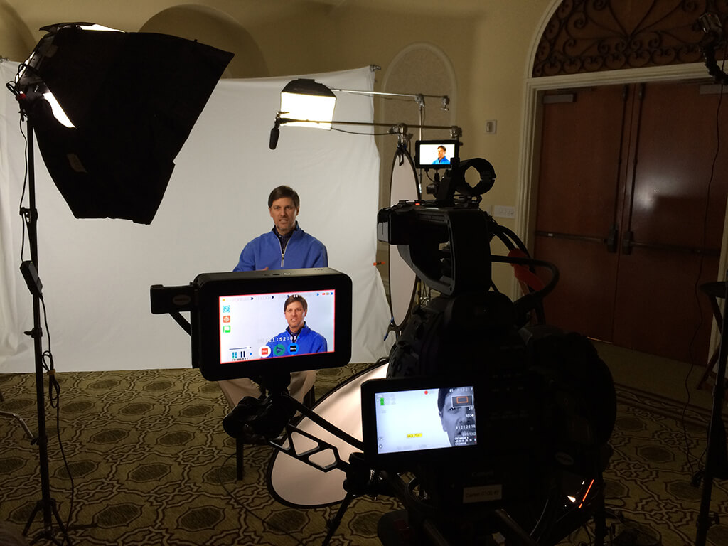 Video induction photography