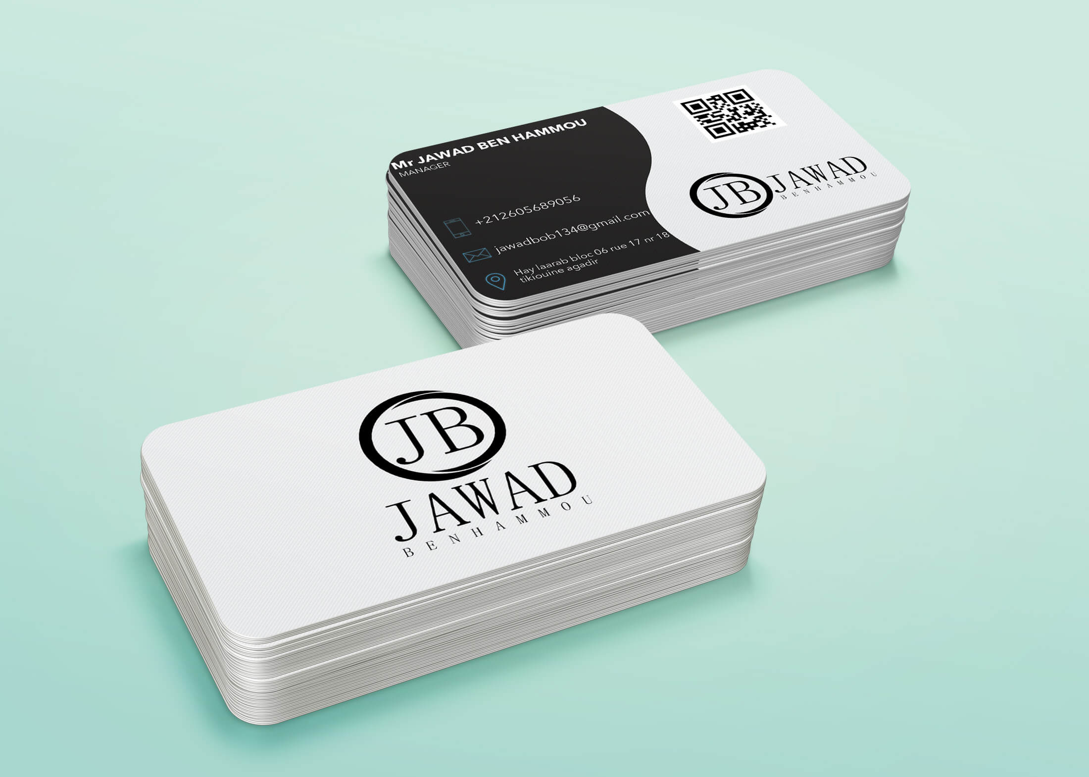 Print a personal card